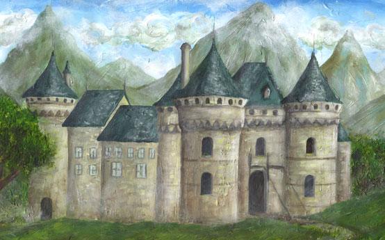 Le maître Chat arriva enfin dans un beau Château dont le Maître était un Ogre